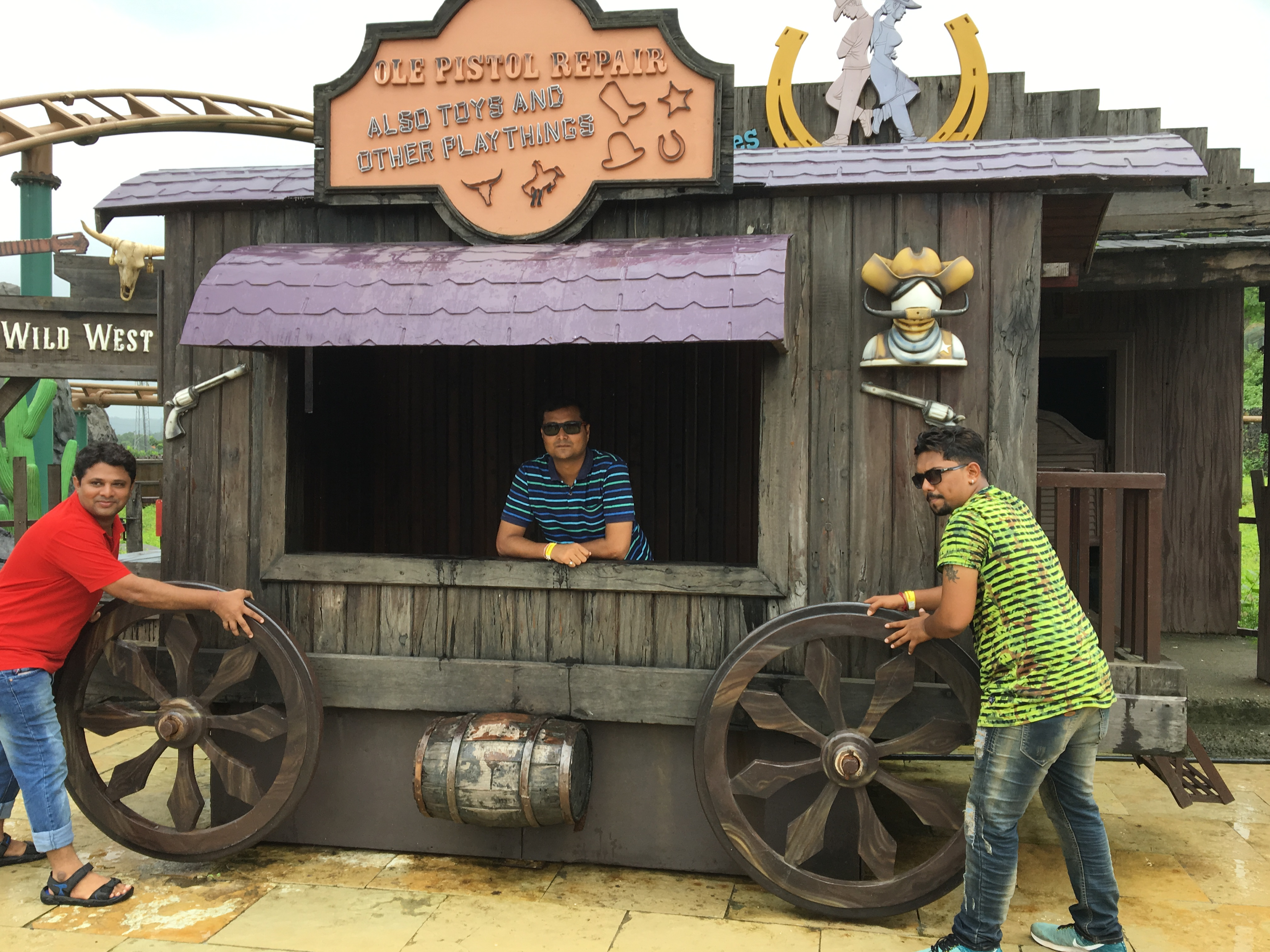Funny Click @ Imagica Theme Park