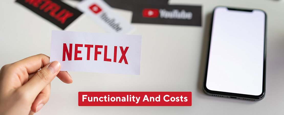 functionality and cost of Netflix